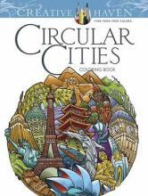 Creative Haven Circular Cities Coloring Book