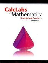 Calclabs with Mathematica for Stewart's Calculus: Concepts and Contexts Single Variable, Enhanced Edition, 4th