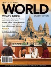 WORLD (with Review Cards and History CourseMate with eBook, Wadsworth World History Resource Center 2-Semester Printed Access Card)