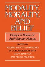 Modality, Morality and Belief