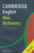 Cambridge English Mini Dictionary South Asian Edition