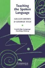 Teaching the Spoken Language