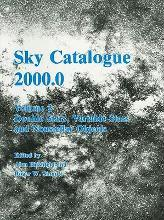 Sky Catalogue 2000.0: Volume 2, Galaxies, Double and Variable Stars, and Star Clusters