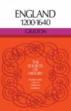 Sources of History: England 1200-1640