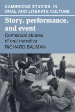 Story, Performance, and Event