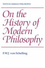 On the History of Modern Philosophy