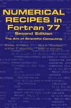Numerical Recipes in FORTRAN 77: Volume 1, Volume 1 of Fortran Numerical Recipes