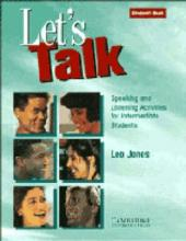 Let's Talk: Let's Talk Student's book: Speaking and Listening Activities for Intermediate Students