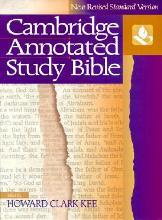 NRSV Cambridge Annotated Study Bible Hardback with jacket NR340: New Revised Standard Version Study Bible