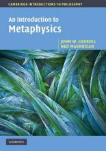 Cambridge Introductions to Philosophy: An Introduction to Metaphysics