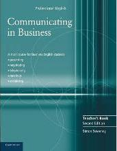 Communicating in Business Teacher's Book