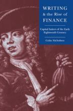 Writing and the Rise of Finance