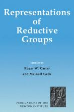 Publications of the Newton Institute: Representations of Reductive Groups Series Number 16