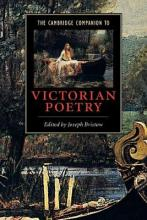 The Cambridge Companion to Victorian Poetry