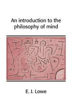 Cambridge Introductions to Philosophy: An Introduction to the Philosophy of Mind