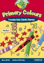 Primary Colours Vocabulary Cards Starter