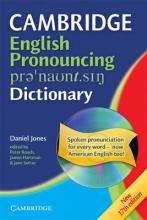 Cambridge English Pronouncing Dictionary Paperback with CD-ROM for Windows