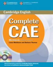 Complete CAE Workbook without Answers with Audio CD