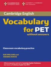 Cambridge Vocabulary for PET Edition without Answers
