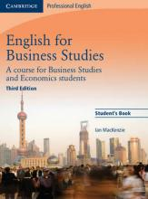 English for Business Studies Student's Book