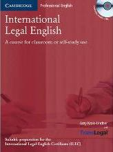 International Legal English Student's Book with Audio CDs (2) and Glossary Polish Edition