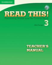 Read This! Level 3 Teacher's Manual with Audio CD: Level 3