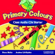 Primary Colours Class Audio CDs Starter