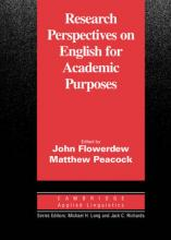 Research Perspectives on English for Academic Purposes