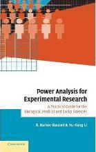 Power Analysis for Experimental Research