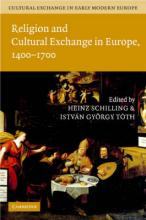 Cultural Exchange in Early Modern Europe 4 Volume Hardback Set