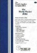 Pocket Bible-KJV-Zipper