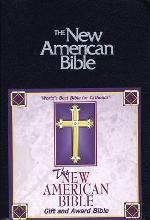 New American Catholic Bible (Navy Blue Imitation Leather)