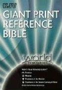 Giant Print Reference Bible-KJV-World Visual Referece System