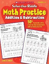 Solve-The-Riddle Math Practice: Addition & Subtraction, Grades 2-3