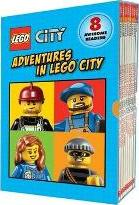 Lego City: Adventures in Lego City (Reader Boxed Set)