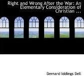 Right and Wrong After the War