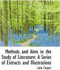 Methods and Aims in the Study of Literature