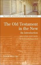 The Old Testament in the New: An Introduction