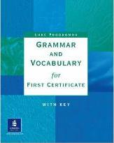 Grammar & Vocabulary for First Certificate With Key