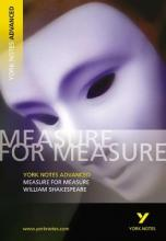Measure for Measure: York Notes Advanced