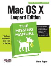 Mac OS X Leopard the Missing Manual