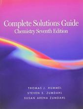 Complete Solutions Guide to Accompany Chemistry