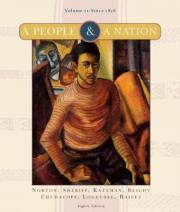 A People and a Nation: v. 2