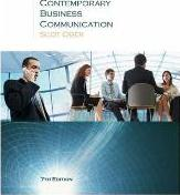 Contemporary Business Communication: Contemporary Business Communication Student Text