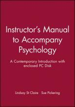 Instructor's Manual to Accompany Psychology: A Contemporary Introduction with Enclosed PC Disk