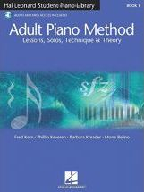 Hal Leonard Student Piano Library Adult Piano Method (Book/Online Audio)