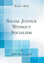 Social Justice Without Socialism (Classic Reprint)