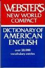 """Webster's """"New World Compact Dictionary"""": American/English"""