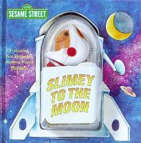 Slimey to the Moon Book & Finger Puppet