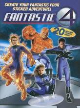 Fantastic Four Color & Activity - Sticker Storybook